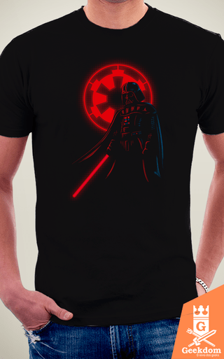 Camiseta Star Wars - Vader e o Império - by Le Duc | Geekdom Store | www.geekdomstore.com