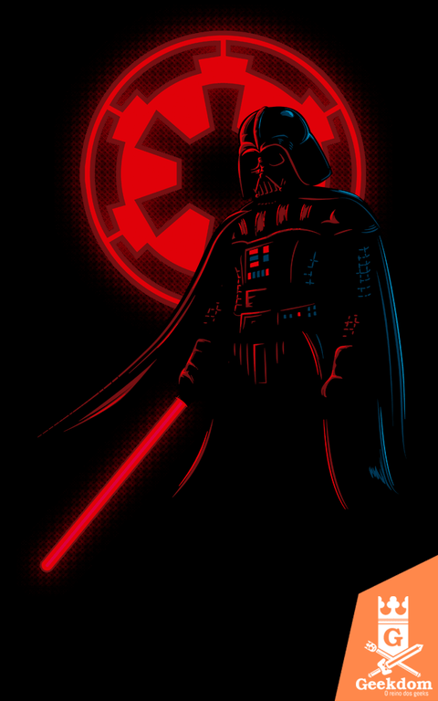 Camiseta Star Wars - Vader e o Império - by Le Duc