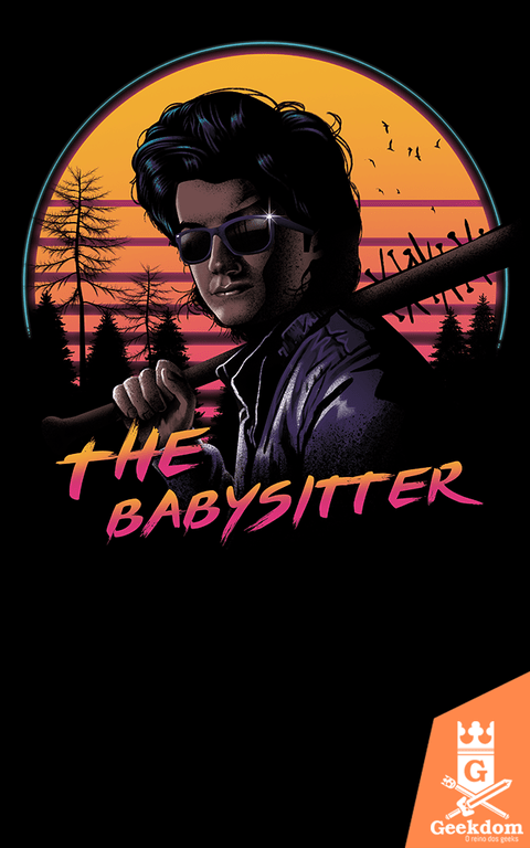 Camiseta Stranger Things - A Babá - by Vincent Trinidad Art