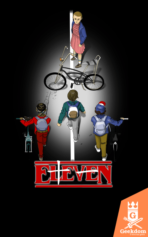 Camiseta Stranger Things - Bikes - by Soletine