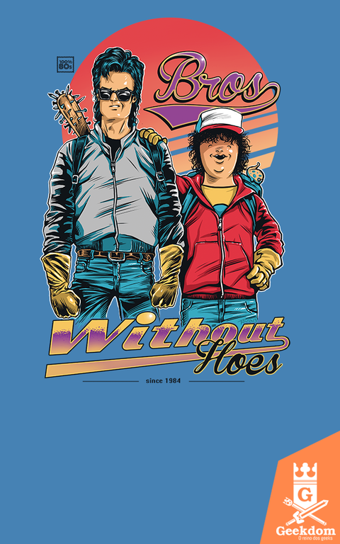Camiseta Stranger Things - Bros. Without Hoes - by RicoMambo