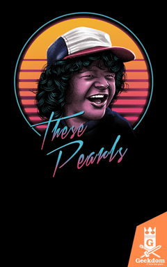 Camiseta Stranger Things - Estas Pérolas - by Vincent Trinidad Art