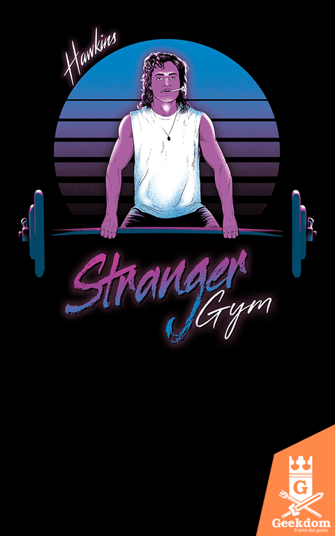 Camiseta Stranger Things - Estranha Academia - by Ddjvigo