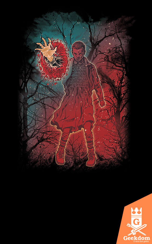 Camiseta Stranger Things - Saindo do Mundo Invertido - by RicoMambo | Geekdom Store | www.geekdomstore.com