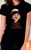 Camiseta Stranger Things - Trust in Dustin - by Vincent Trinidad Art | Geekdom Store | www.geekdomstore.com