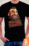 Camiseta Street Fighter - Muscle Power - by Piccolo | Geekdom Store | www.geekdomstore.com