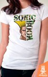 Camiseta Street Fighter - Sonic Boom - by Piccolo | Geekdom Store | www.geekdomstore.com