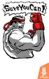 Camiseta Street Fighter - SureYouCan - by HugoHugo