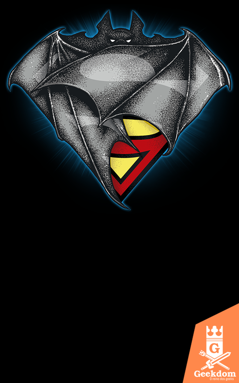 Camiseta SuperBat - by RicoMambo