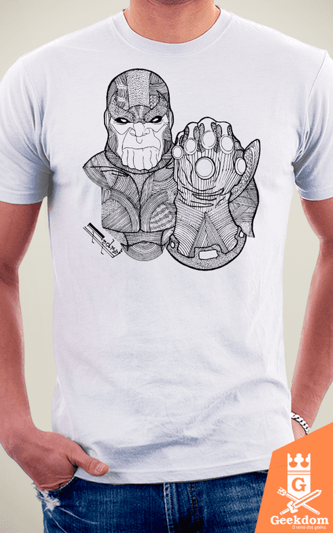 Camiseta Thanos - by Andrei na internet
