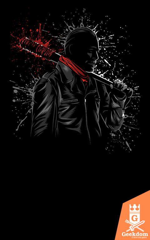 Camiseta The Walking Dead - Psicopata - by Albertocubatas