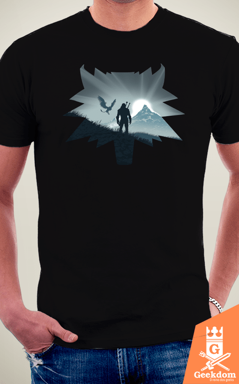 Camiseta The Witcher - Caçada Selvagem - by Ddjvigo | Geekdom Store | www.geekdomstore.com
