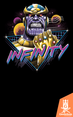 Camiseta Vingadores - Thanos Infinito - by Vincent Trinidad Art | Geekdom Store | www.geekdomstore.com