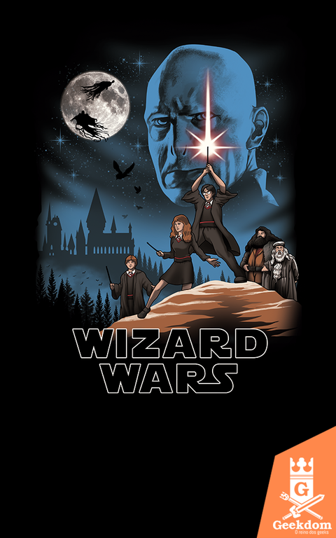 Camiseta Wizard Wars - by Vincent Trinidad Art
