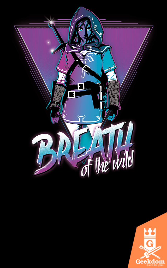Camiseta Zelda - Breath of the Wild - by Ddjvigo | Geekdom Store | www.geekdomstore.com