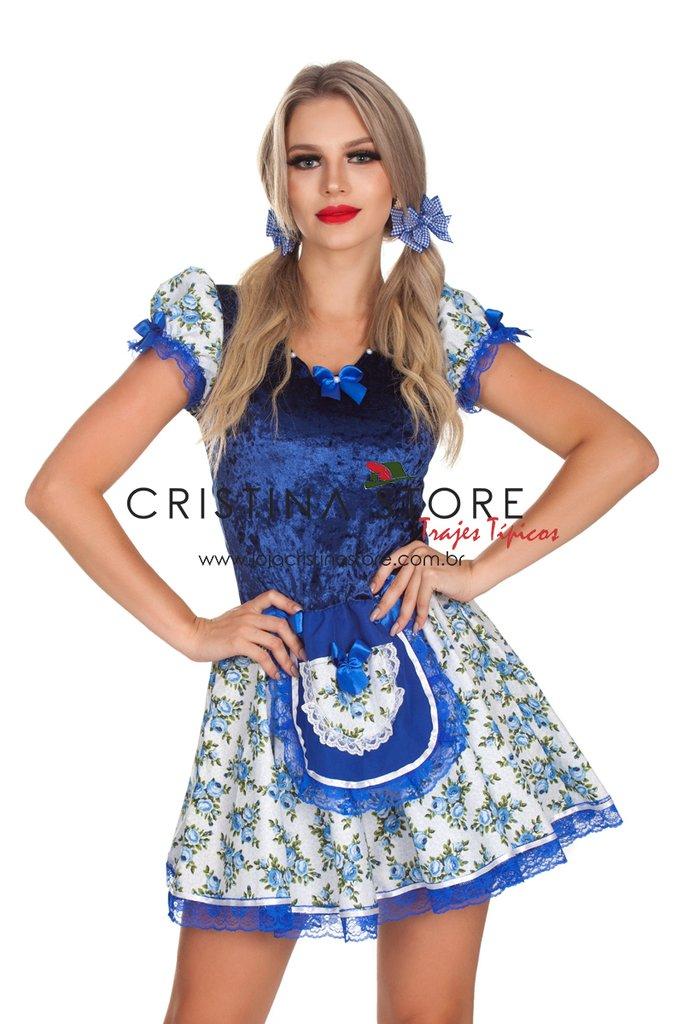 Vestido Sophie - Festa Junina Caipira Chic e799c93f221