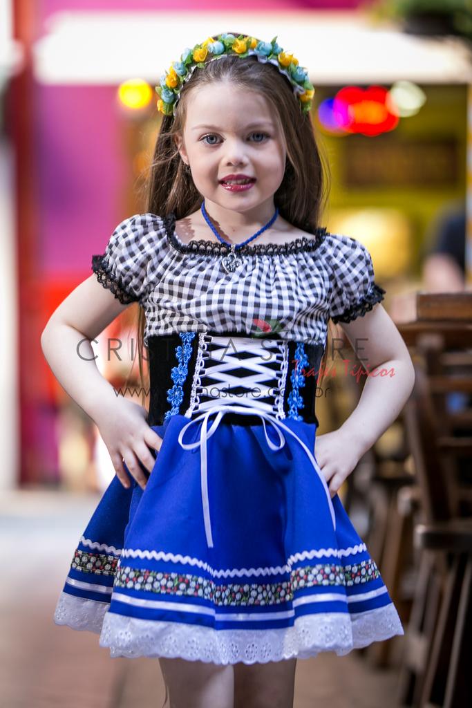 dd2e6af158 Vestido Alemão Infantil - Mariana - Cristina Store