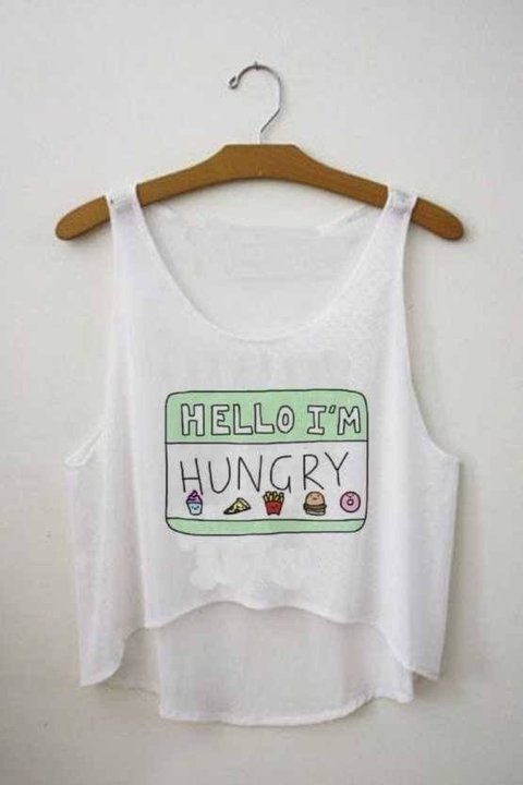 Top cropped - Hello I'm Hungry