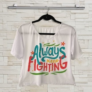 T shirt - Supernatural - Always keep fighting