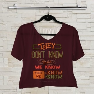 T shirt Série - Friends - They Don't Know