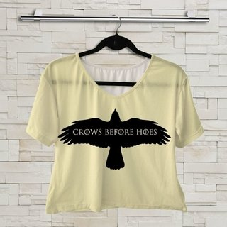 T shirt - Game Of Thrones - Crows Before Hoes 02