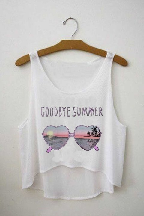 Top cropped - Goodbye Summer