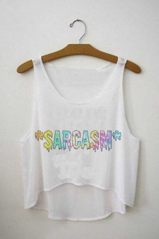 Top cropped - Sarcasm