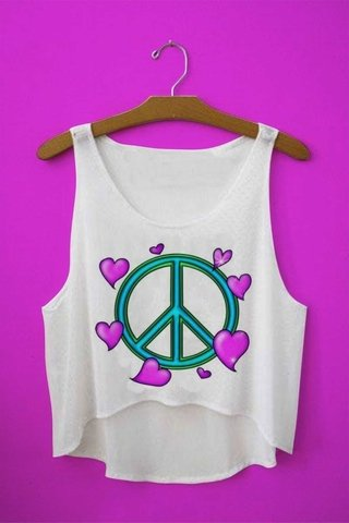 Top cropped - Symbol Peace Heart