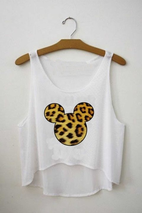 Top cropped - Mickey Onça