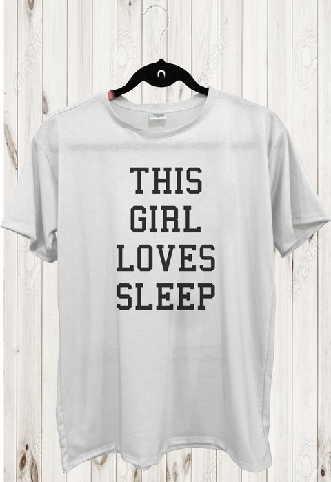 Tee Max - Tumblr - This Girl Loves Sleep - comprar online