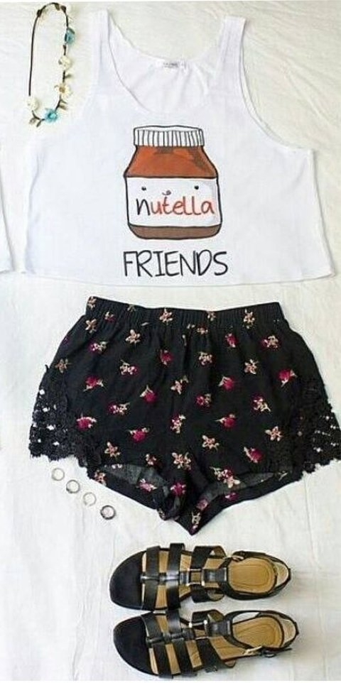 Top Cropped - Nutella Friends