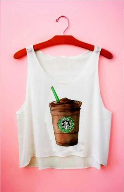 Top cropped - Frappuccino Starbucks Chocolate