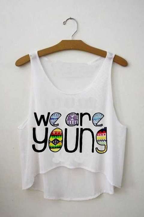 Top cropped - We are Young