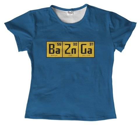T shirt - A Teoria do Big Bang 02 - BAZINGA