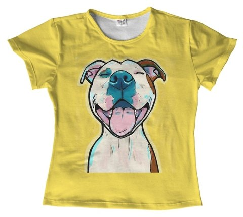 T shirt - animais - Pitbull dog 05 (cópia)