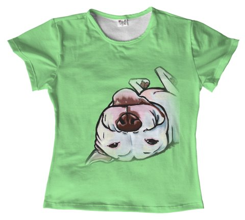 T shirt - animais - Pitbull dog 06 na internet