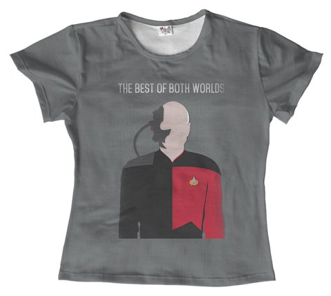 T shirt - filme - Star trek 07 na internet