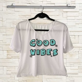 T-shirt - Hippie - Good Vibes 01