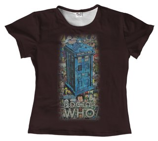 T shirt - Serie - Doctor Who 08 na internet