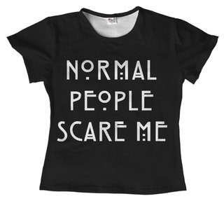 T-shirt Série - American Horror Story - Normal People Scare Me