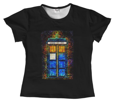 T shirt - Serie - Doctor Who 01 - comprar online