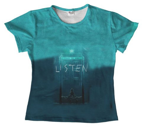 T shirt - Serie - Doctor Who 02 na internet