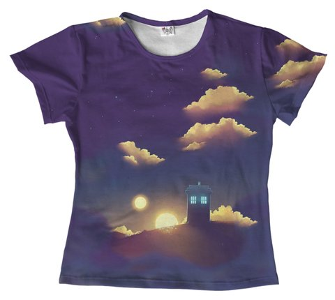 T shirt - Serie - Doctor Who 04 na internet