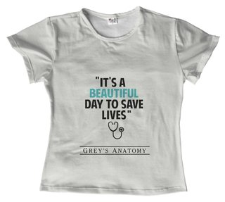 T shirt - Serie - Greys Anatomy 08 na internet