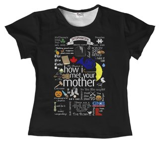 T shirt Série - How I met Your Mother 05