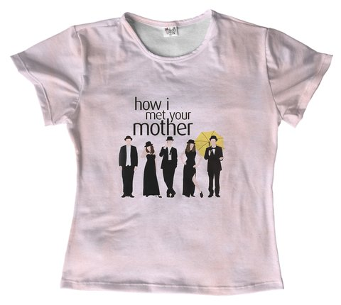 T shirt Série - How I met Your Mother 10 na internet