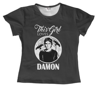 T-shirt - Série - The Vampire diaries 05 - comprar online