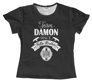 T-shirt - Série - The Vampire diaries 06 na internet