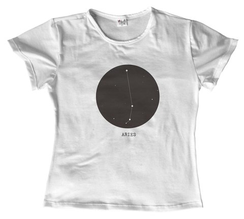 T shirt - Signo - Aries 01 na internet