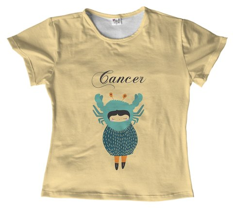 T shirt - Signo - cancer 02 na internet